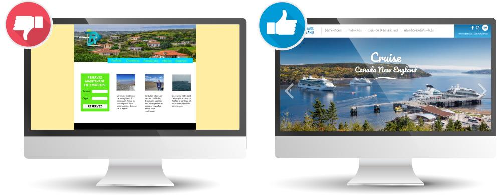 Un site Web de qualité