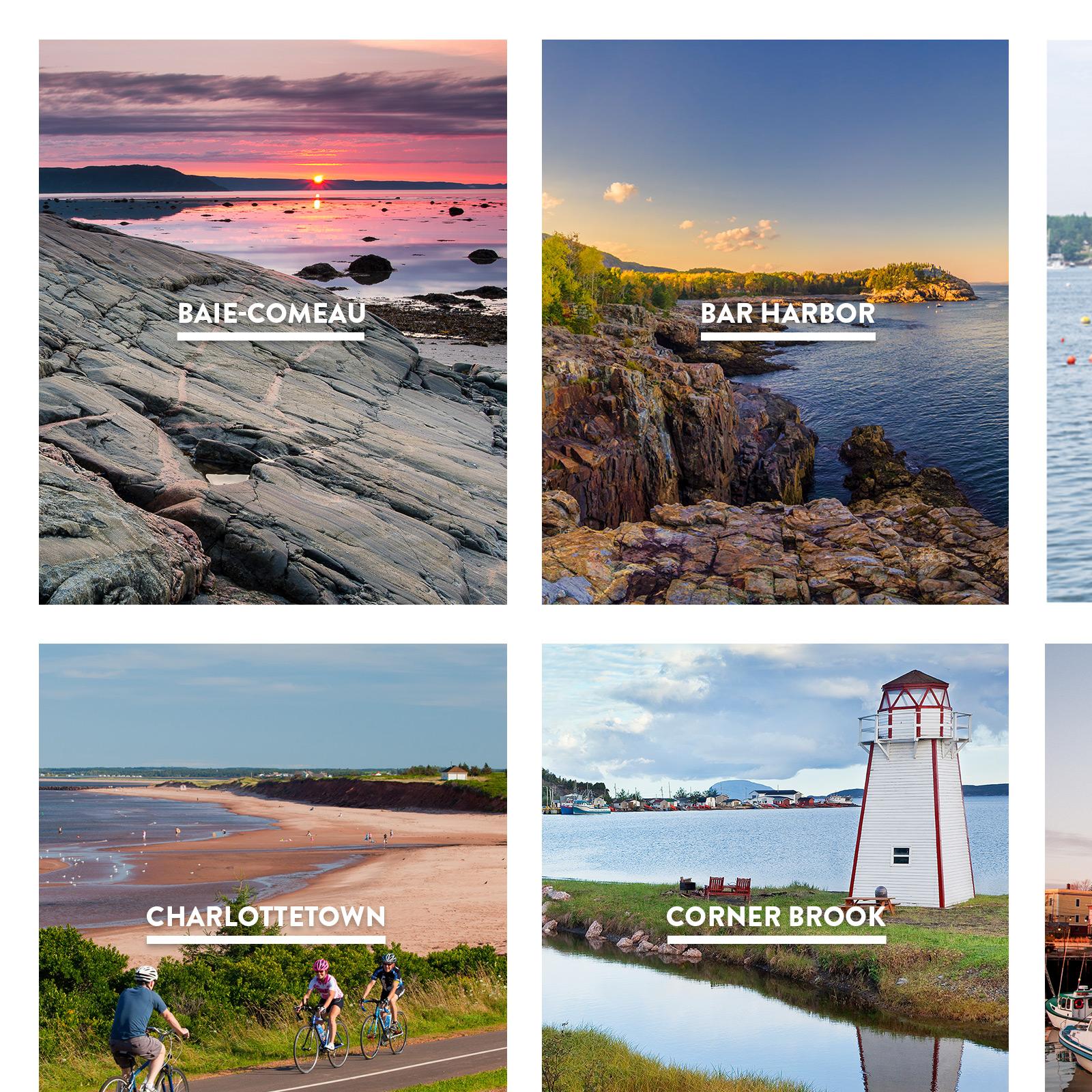 Cruise Canada New England